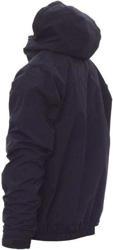 Blu Navy, L 2.0 Giubbino Giacca da Uomo 100/% Nylon con Cappuccio Sagomato Tasche Esterne Polsini stringi Polsi Chiusura Zip Porta Smartphone PAYPER Pacific R