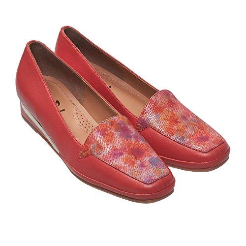 Zapatos as Cu 0639 Mujer Coral de Dal Van 7wqRWnESE