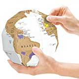 LifeCom 3D Scratch Globe Scratch Off World
