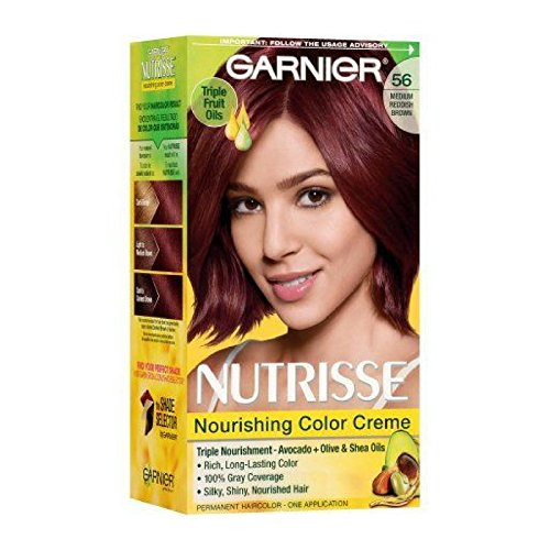 Garnier Nutrisse Nourishing Color Creme, 56 Medium Reddish B