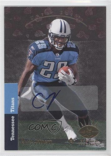 - Chris Johnson (Football Card) 2008 SP Rookie Edition - [Base] - Autograph [Autographed] #160