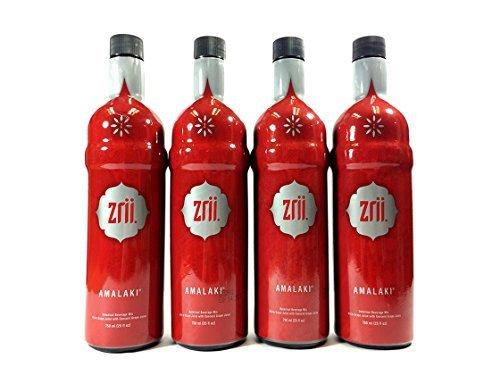 Cheap 4x Zrii AMALAKI Botanical Beverage Mix White Grape Juice with Concord Grape Juice 25 fl oz bottle (The Original Amalaki)