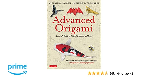Advanced Origami An Artists Guide To Folding Techniques And Paper