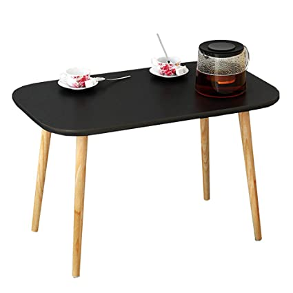 WBBZD Coffee Table, Modern Minimalist Mini Coffee Table Small Square Table  Sofa Side Table Nordic