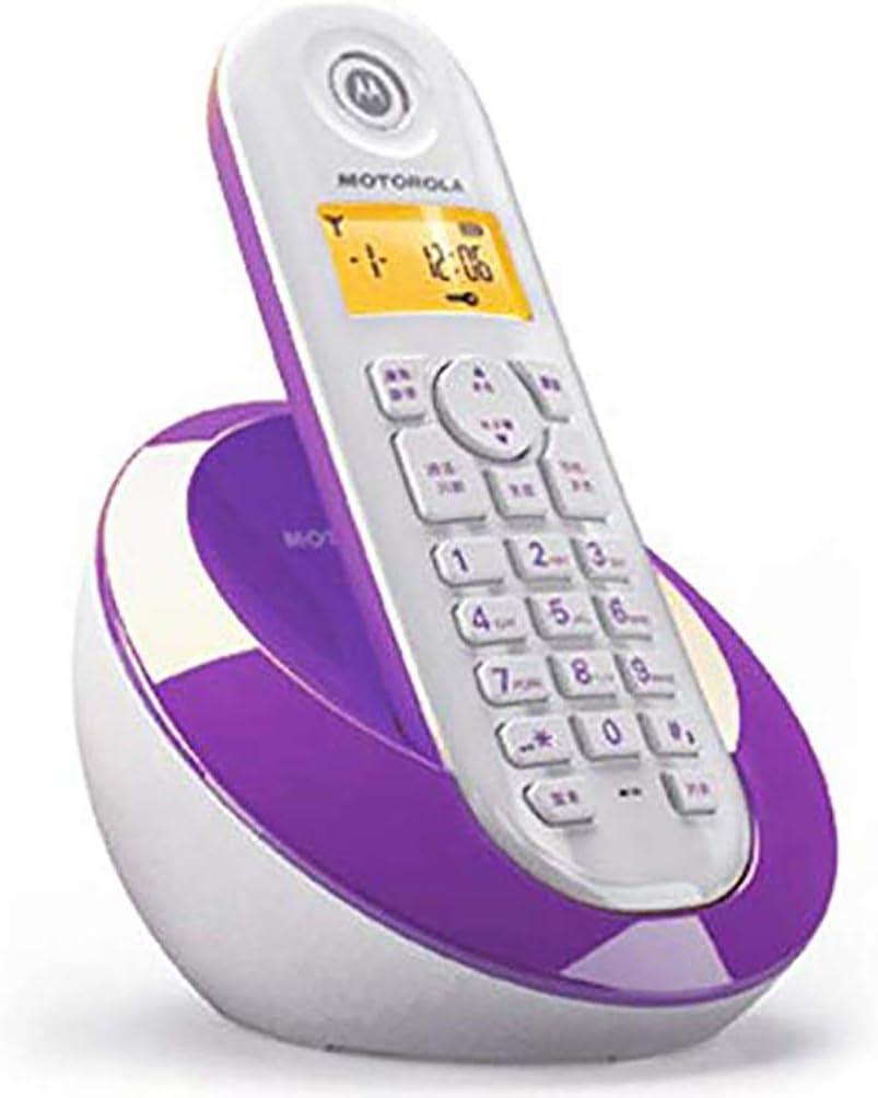 Eres el mejor Simple y Elegante teléfono inalámbrico Digital teléfono Fijo máquina única máquina ID de Llamada Pantalla Oficina en casa (Color : 1): Amazon.es: Hogar