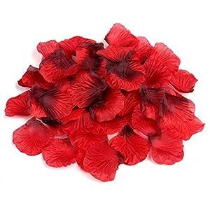 Naler Artificial Flowers Silk Rose Petals Home Party Ceremony Wedding Decoration 2000Pcs 2