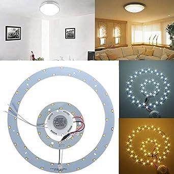 Global 25w SMD 5730 LED círculos dobles panel de techo ...