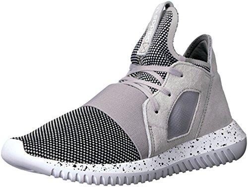 Adidas Originals Donna Tubular Defiant Fashion Sneaker Chiaro Granito / Cromo / Bianco