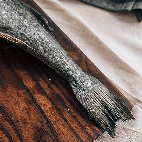Sablefish sin cabeza y tuerca 10 lb pequeño: Amazon.com ...