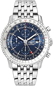 Breitling Navitimer World Blue Dial 46 mm Men's Watch A2432212/C651-453A