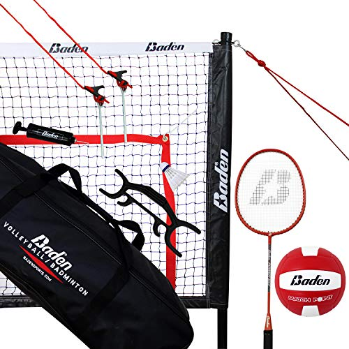 Baden Champions Volleyball Badminton Combo Set ()
