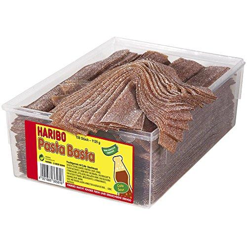 Haribo Pasta Basta Cola Sour 150 Pieces (1125g)