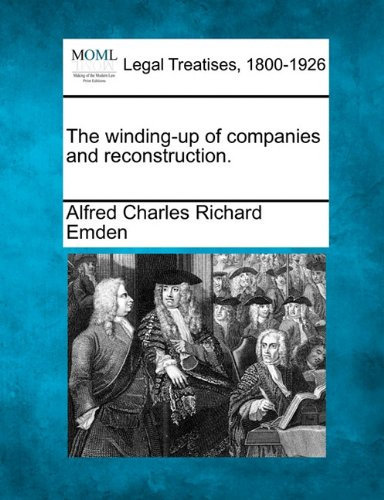 The winding-up of companies and reconstruction. pdf