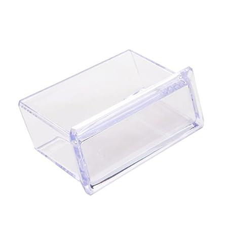 Ogquaton Soporte de tarjeta de visita de plástico Soporte de ...