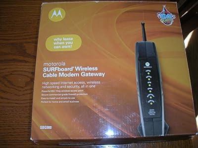 Motorola Surfboard SBG900 Modem Cable Modem Gateway 802.11B/G