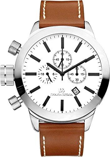 Danish Design - Wristwatch, cronografo al quarzo, Leather