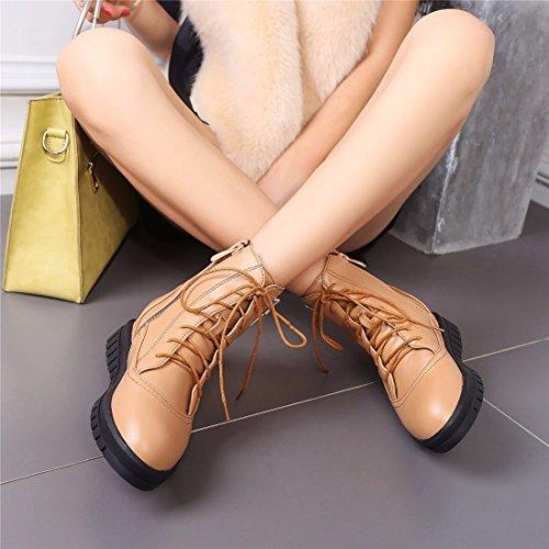 Boots Bottes Winter 36 Yellow Bracelet Diamond Augmentation Talon Par Martin UNE Lady Métal Compensé gYdqWw