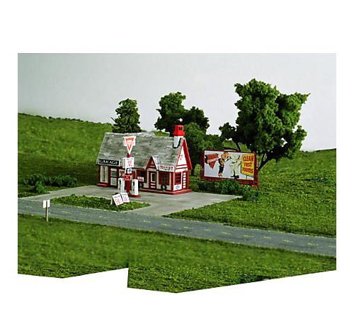 Blair Line Ho Scale Laser - Blair Line HO Scale Kit Laser-Cut Ernie's Gas Station