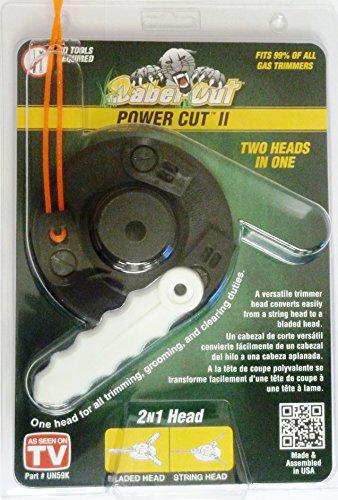 SaberCut UN-59K Power Cut II Trimmer (Weedeater Clip)