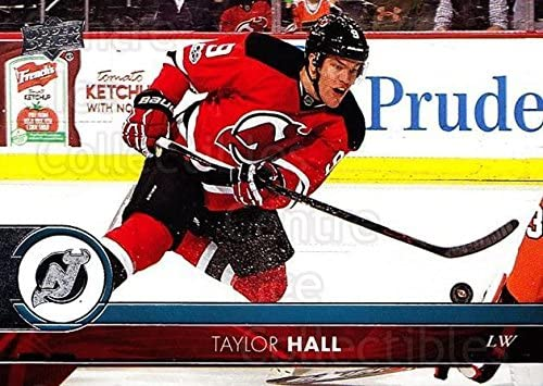 Amazon Com Ci Taylor Hall Hockey Card 2017 18 Upper Deck Base 117 Taylor Hall Collectibles Fine Art