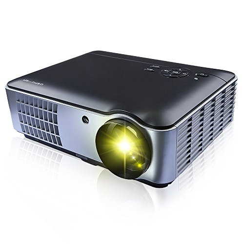 RD-806 Home Theater Cinema Android Projector with LED Lamp Support WIFI 720P/1080P