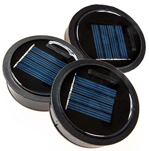 3 Pack Solar Mason Jar Lid Insert Led Mason Jar Solar