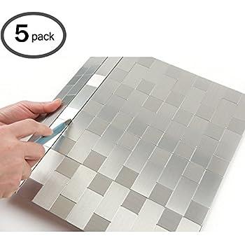 Amazon Com Peel And Stick Mosaics Kitchen Tile For