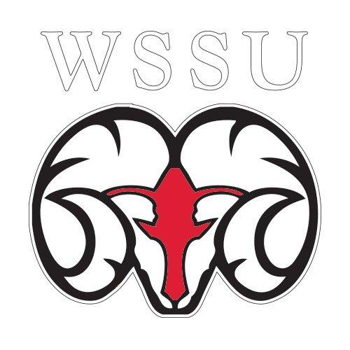 CollegeFanGear Winston Salem Large Decal 'WSSU Ram' by CollegeFanGear
