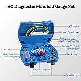JDMON AC Diagnostic Manifold Gauge Set for Freon