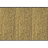 """Amscan Sun-Sational Summer Luau Party Bamboo Scene Setter Room Roll, Bamboo Brown, 48"""" x 40"""""""