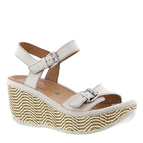 Instep Bar (Bussola Teagan Women's Sandal 39 M EU Off White)