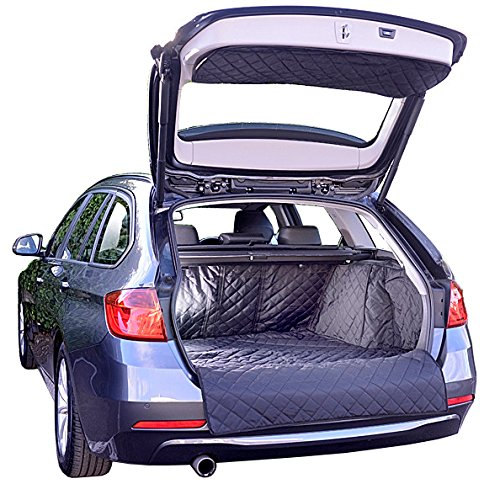 BMW 3 Series Touring Cargo Liner Trunk Mat - F31 - Quilted, Waterproof & Tailored - 2012 to 2018 by North American Custom Covers