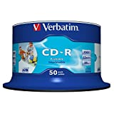 Verbatim CD-R Wide Printable Surface 52x 700MB CD-Rohlinge 50er Spindel