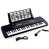 Ellegance JC-4918 Children 49 Keys Electronic Piano Music Keyboard, Black