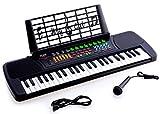 Electronics Kids Best Deals - Ellegance JC-4918 Children 49 Keys Electronic Piano Music Keyboard, Black