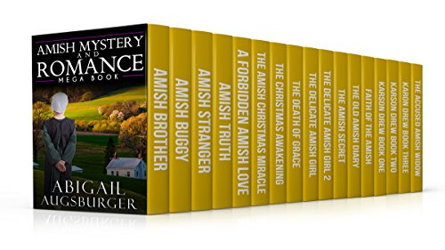 Amish Mystery and Romance MegaBook by [Augsburger, Abigail ]