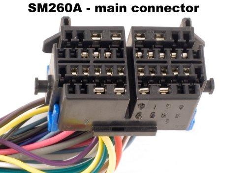 Hi//Low Beam Switch Shee-Mar SM260A Turn Signal Cruise Control Headlight Wiper//Washer