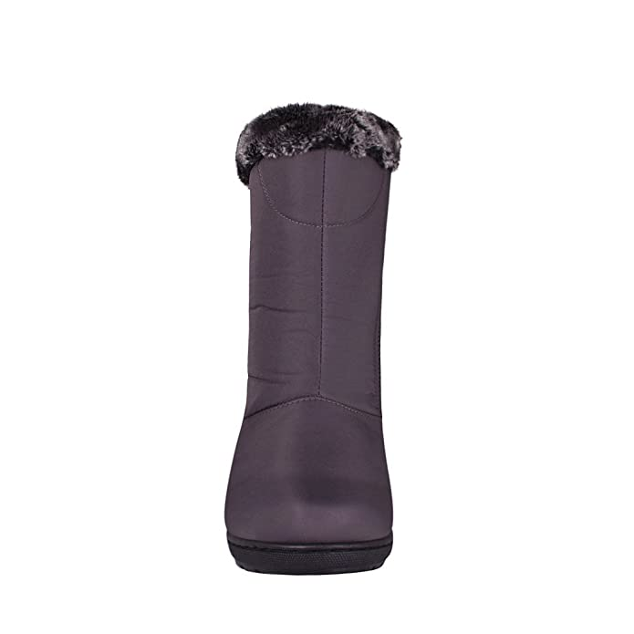 9ef3285ad67b5 FUROR Botas para Invierno para Mujer Textil Gris 12584 22  Amazon.com.mx   Ropa