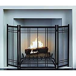 Pleasant Hearth Preston 3 Panel Fireplace Screen by GHP-Group Inc