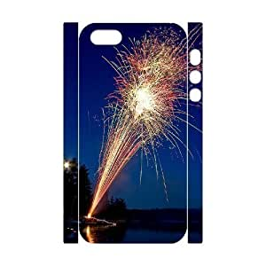 Fireworks 3D-Printed ZLB594582 Customized 3D Cover Case for Iphone 5,5S