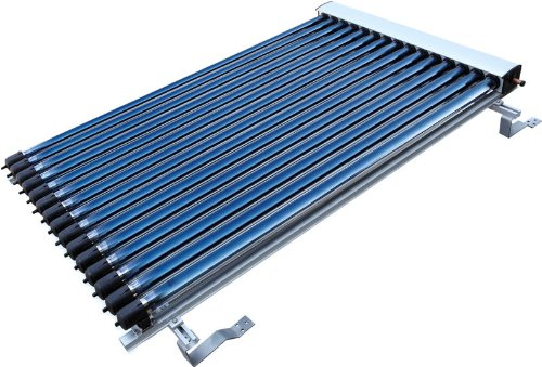 25 Tube Duda Solar Water Heater Collector Slope Roof Frame Evacuated Vacuum Tubes SRCC Certified Hot - Slope Roof