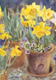 "Toland Home Garden 119137 Potted Daffodils 12.5 X 18"" Decorative USA-Produced Garden Flag"