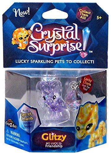 Crystal Surprise! Glitzy Lucky Pet Figure [Random Color Pet!] ()