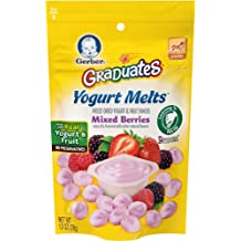 Gerber Graduates Yogurt Melts, Mixed Berry, 1 Ounce (Pack of 7)