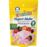 yogurt bites organic - Gerber Graduates Yogurt Melts, Mixed Berry, 1 Ounce (Pack of 7)