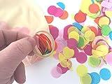 SolarEscape 36'' Confetti Balloons 2 Pcs Jumbo Latex Balloon Filled W/Multi Color Confetti Wedding, Party Decorative