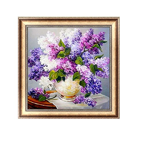 5D Diamond Mosaic Embroidery Lavender Painting Craft DIY Home Decor - 5