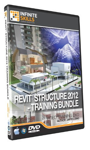 Discounted - Revit Structure 2012 Training Bundle - 15 hours of Videos on DVD by Infiniteskills