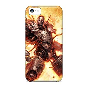 Topcases Scratch-free Phone Case For Iphone 5c- Retail Packaging - Metal Monster