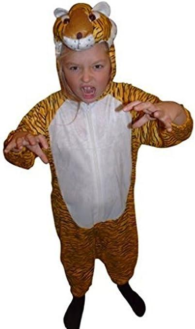 Ikumaal AN28 tamaño 5-6 años Disfraz de Tigre para Bebés y Niños ...